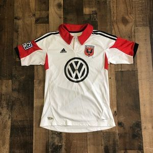 Adidas DC United MLS Youth Doyle Soccer Jersey
